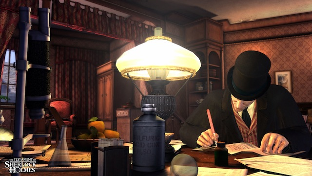 The Testament of Sherlock Holmes - Screenshot 02