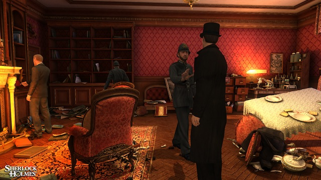 The Testament of Sherlock Holmes - Screenshot 03