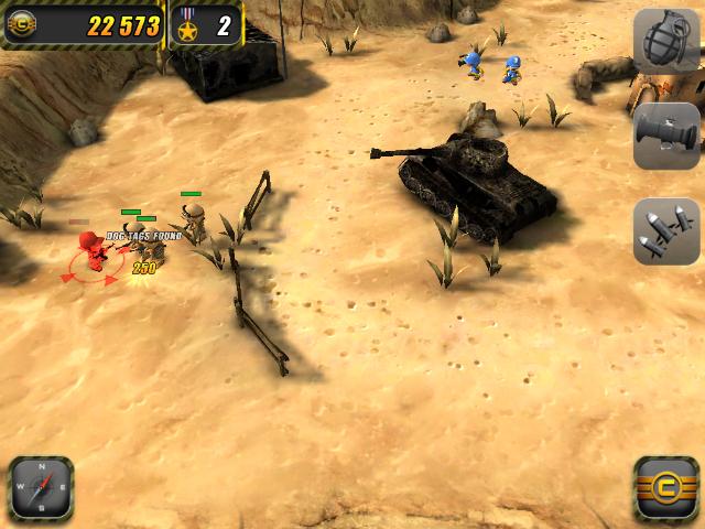Tiny Troopers - Screenshot