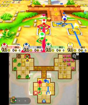 Toad Scramble - map move