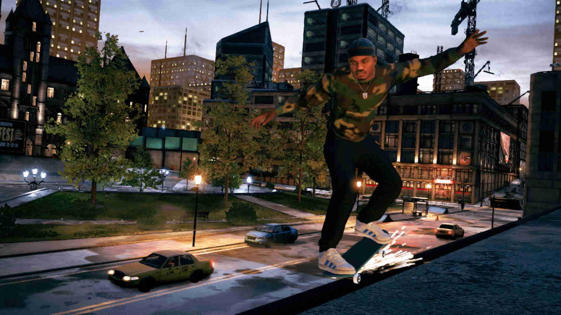 Tony Hawk's Pro Skater 1 + 2 Switch on the go!