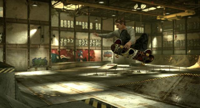 Tony Hawks Pro Skater HD - Grab