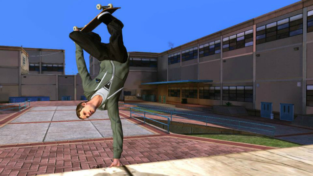 Tony Hawks Pro Skater HD - Handplant