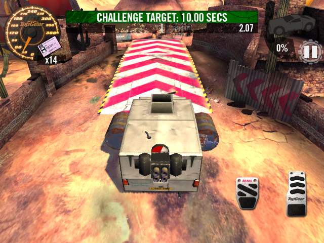 Top Gear: Stunt School Revolution - Screenshot