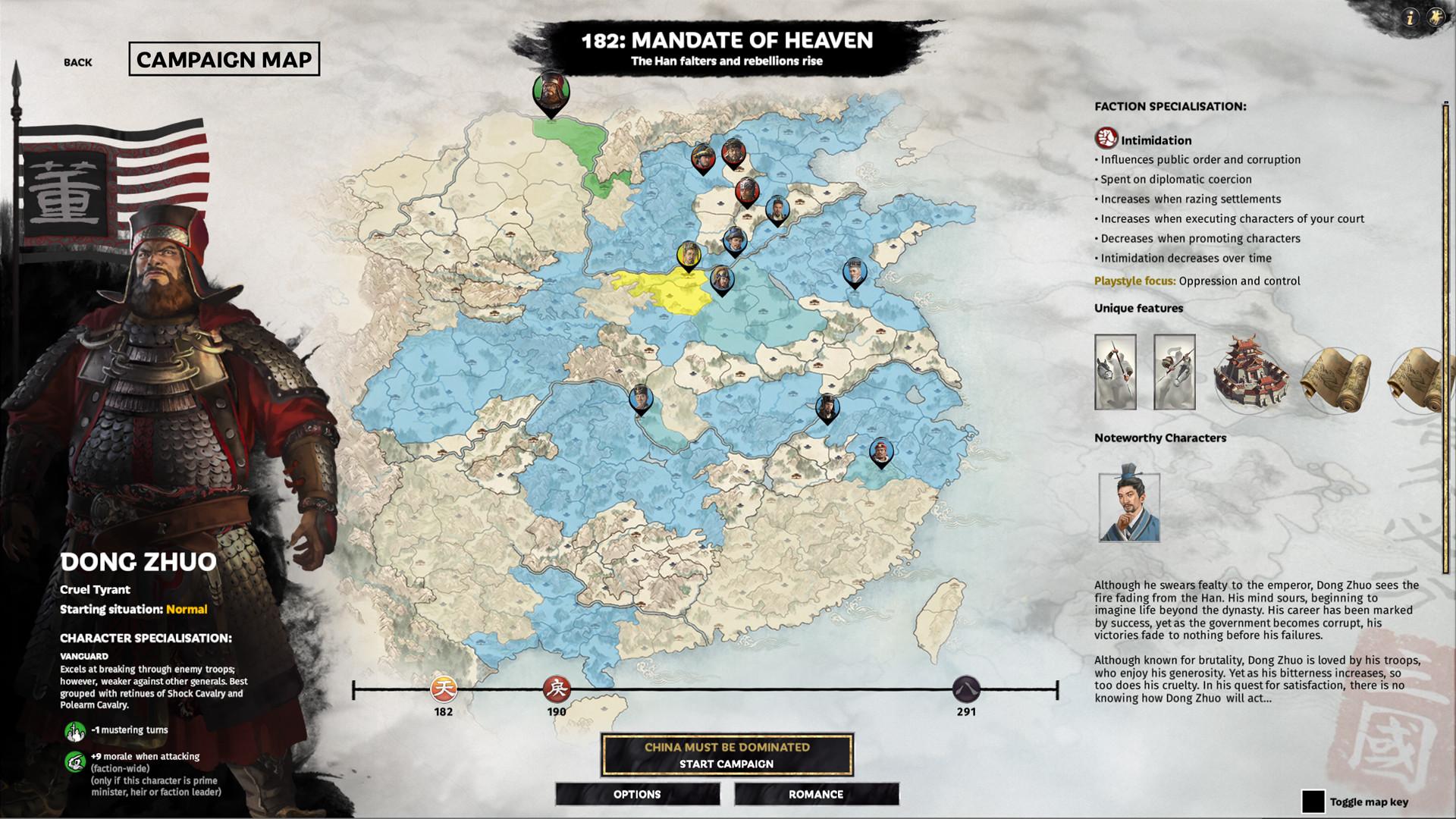 A screenshot from Total War: Three Kingdoms – Mandate of Heaven