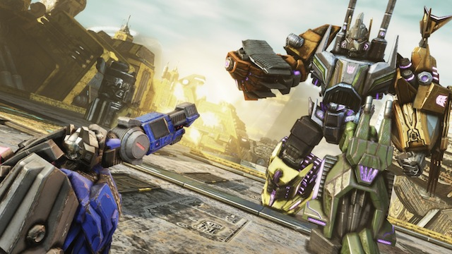 Transformers: Fall of Cybertron - Activision Preview