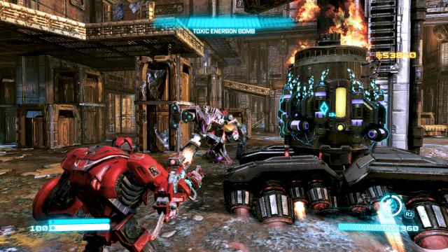 Transformers: Fall of Cybertron - Screenshot 01