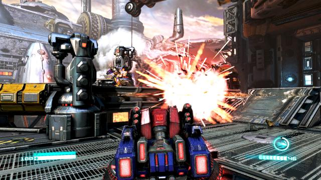 Transformers: Fall of Cybertron - Screenshot 02