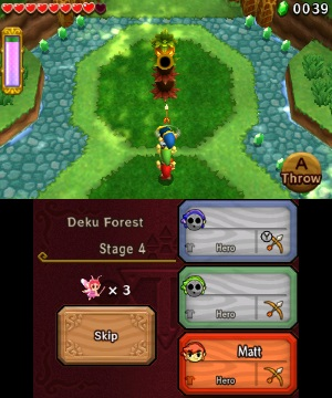Tri Force heroes 3DS review