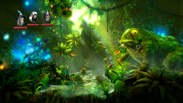 Trine 2 - Amadeus and the Giant Frog