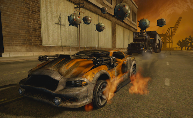Twisted Metal - Car