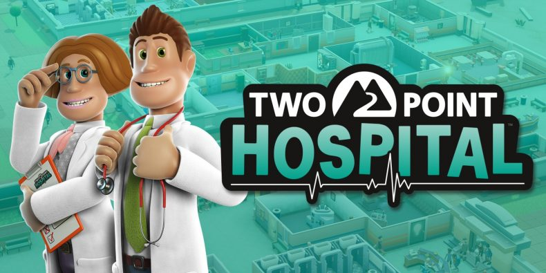 Two Point Hospital on console is coming in 2020