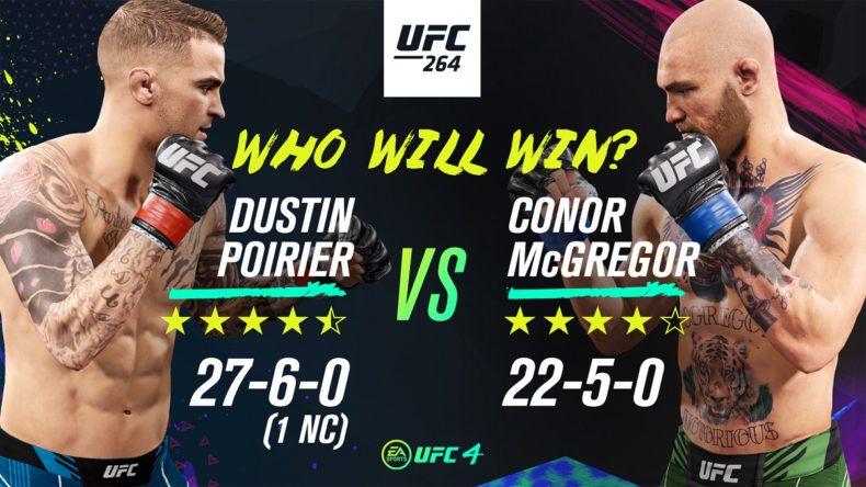 UFC 4 McGregor Poirier Fight Sim News