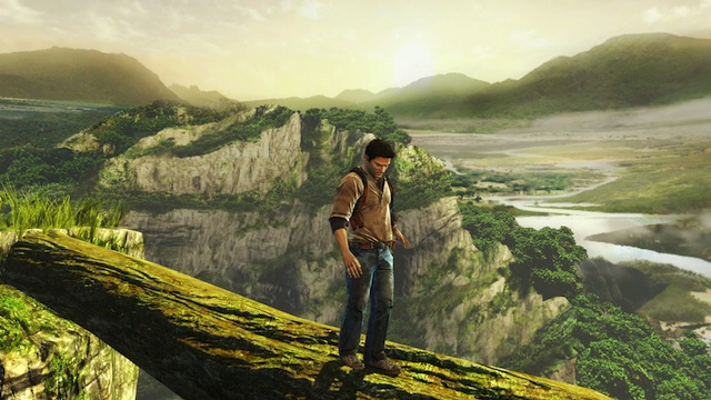 Uncharted: Golden Abyss - Drake Balancing