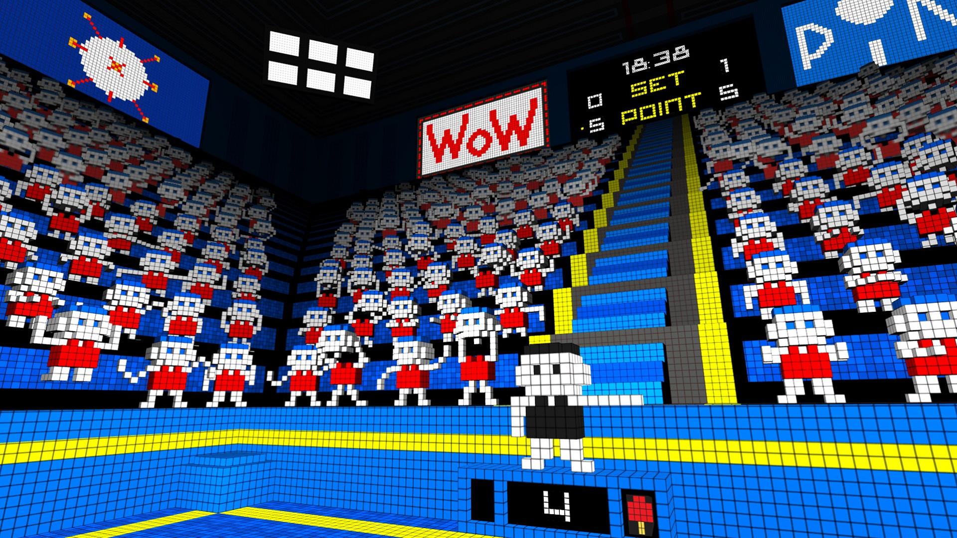 VR ping pong htc vive screenshot