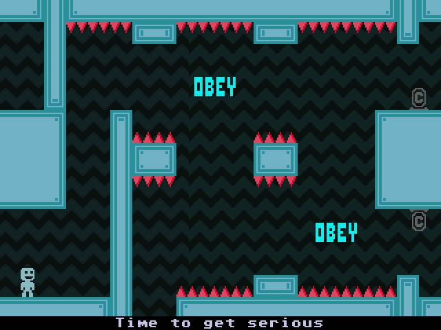 VVVVVV - Screenshot