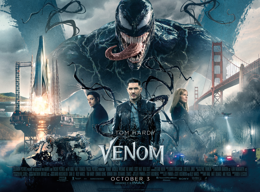 New Hindi Movei 2018 2019 Bolliwood: Check Out The New Venom Movie Poster