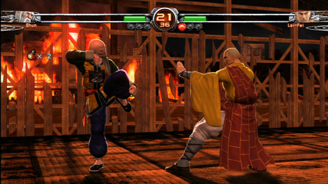 Virtua Fighter 5 Final Showdown - Shun LeiFei