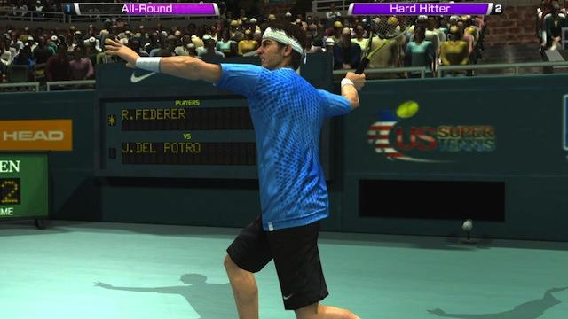 Virtua Tennis 4 - Del Potro