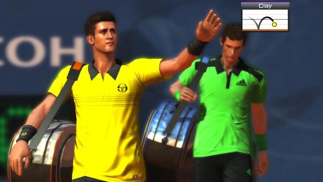 Virtua Tennis 4 - Djokovic & Murray