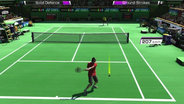 Virtua Tennis 4 - Exibition Mode Grass