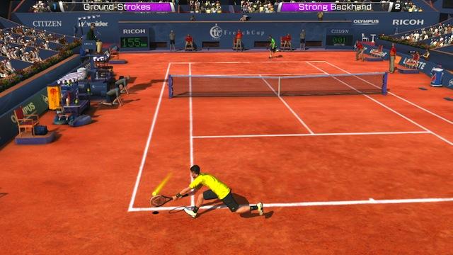 Virtua Tennis 4 - Exibition Mode Clay