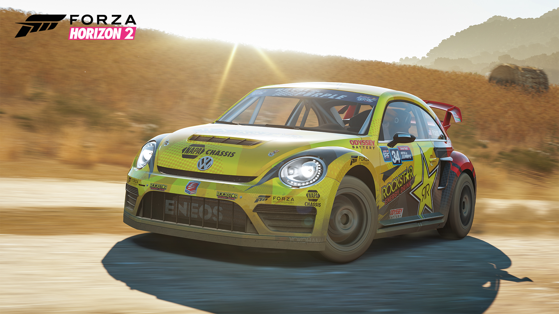 Rockstar Energy Car Pack Now Available For Forza Horizon 2