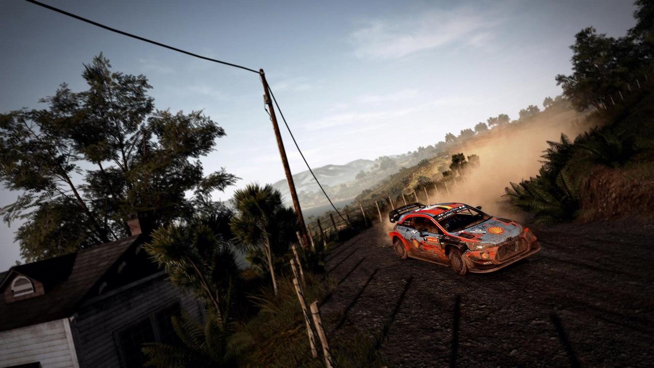 WRC 9 Switch race