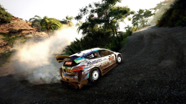 WRC 8 Switch review