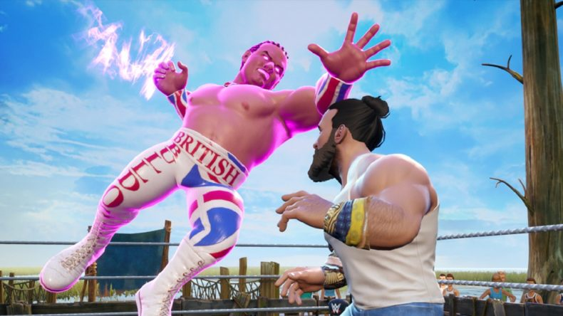 WWE 2K Battlegrounds British Bulldog