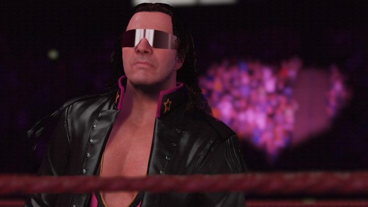 WWE 2K16 Bret Hart was actually a good wrestler