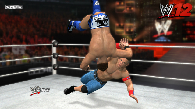 WWE '12 - Cena Hiptoss