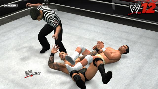 WWE '12 - Del Rio Arm Bar