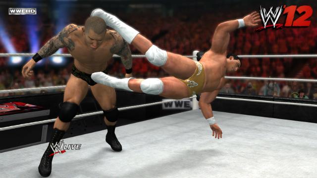 WWE '12 - Del Rio Enziguiri