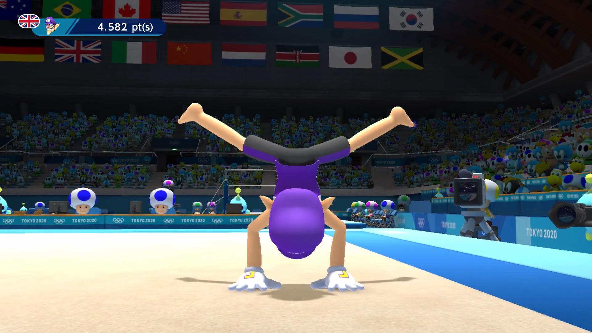 The top 5 best events in Mario & Sonic Tokyo 2020: Gymnastics