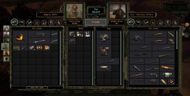 Wasteland 2 review - menus