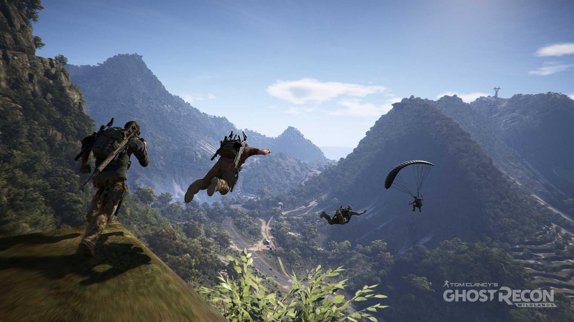 Wildlands parachute