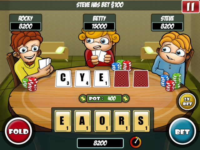 Word Poker - Screenshot