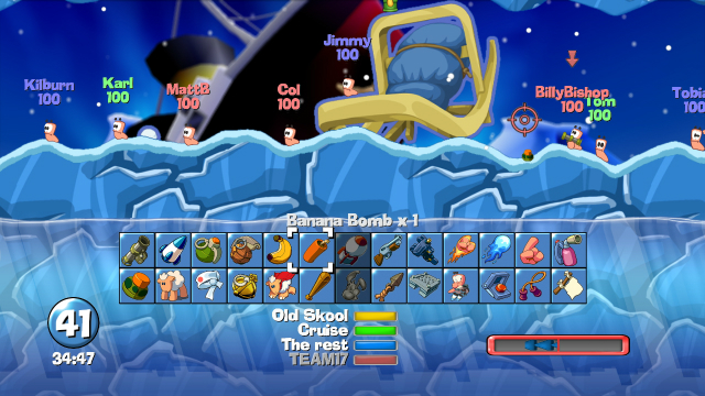Worms Collection - Screenshot 1