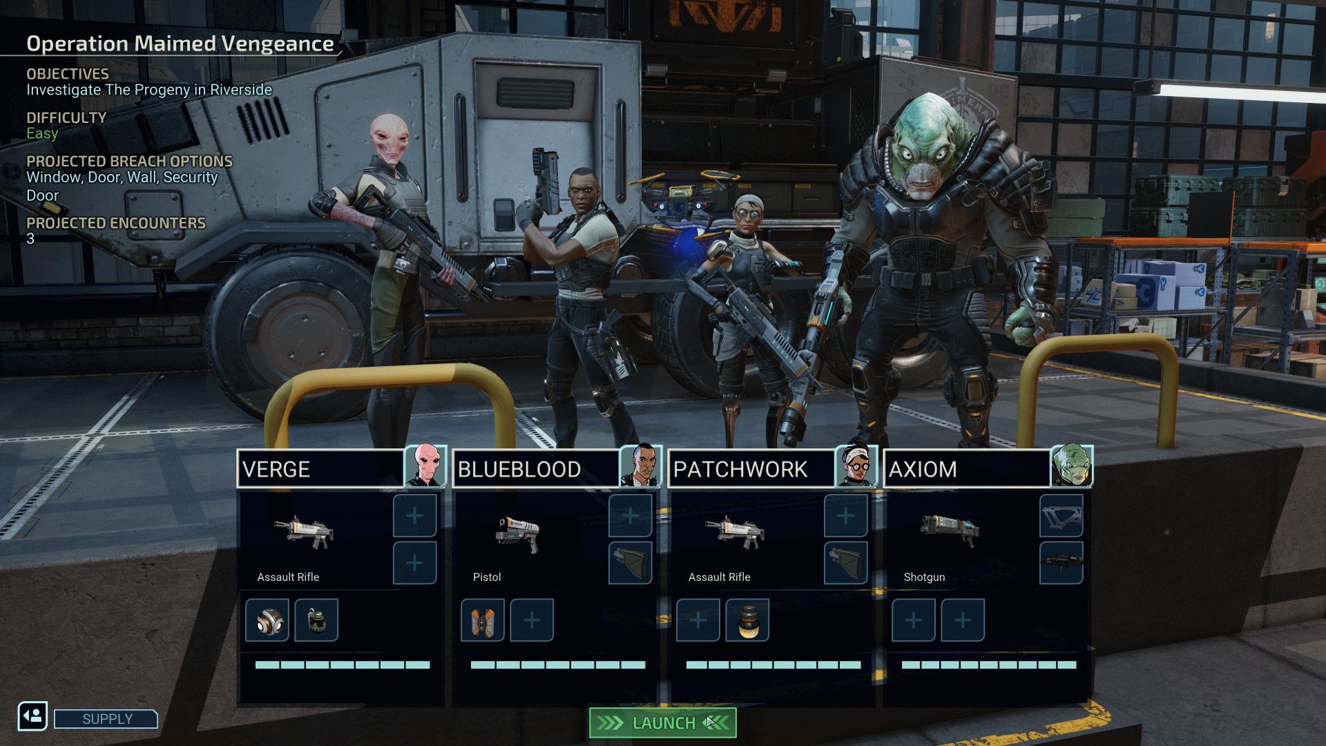 XCOM Chimera Squad Screen 002