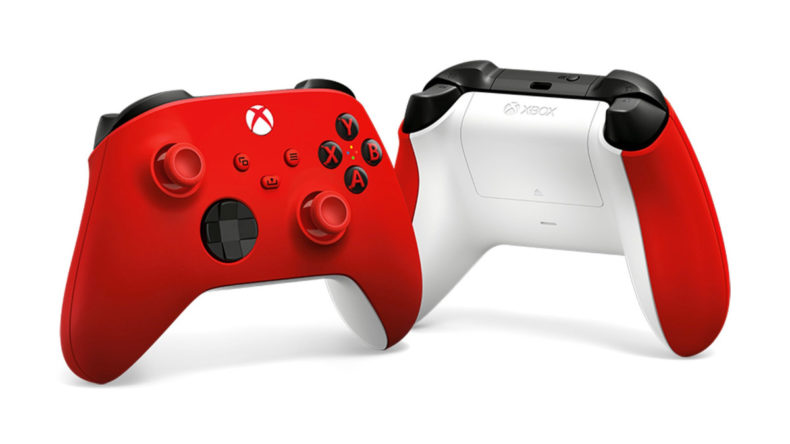 Xbox Series X|S Pulse Red Controller