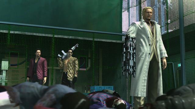 Yakuza: Dead Souls - Gun Hand