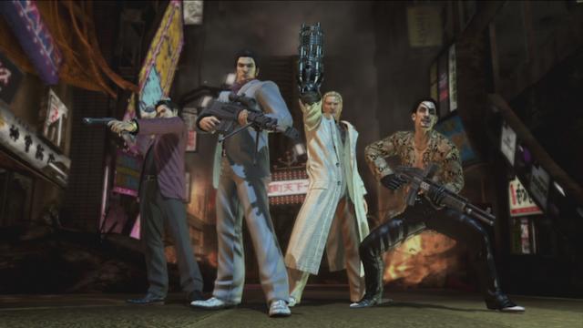 Yakuza: Dead Souls - Posers