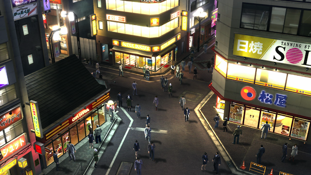 Yakuza: Dead Souls - Zombies Street