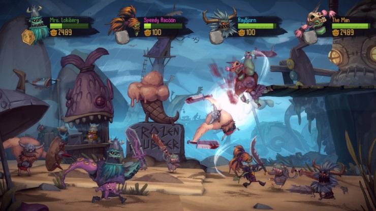 Zombie Vikings PS4 Screenshot