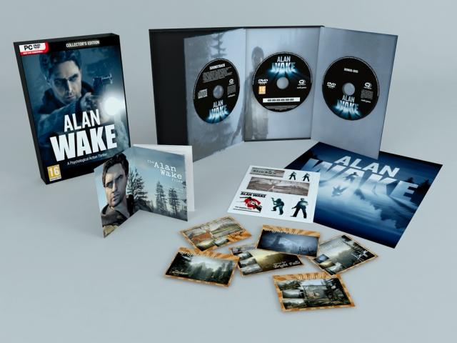 Alan Wake PC Collector's Edition