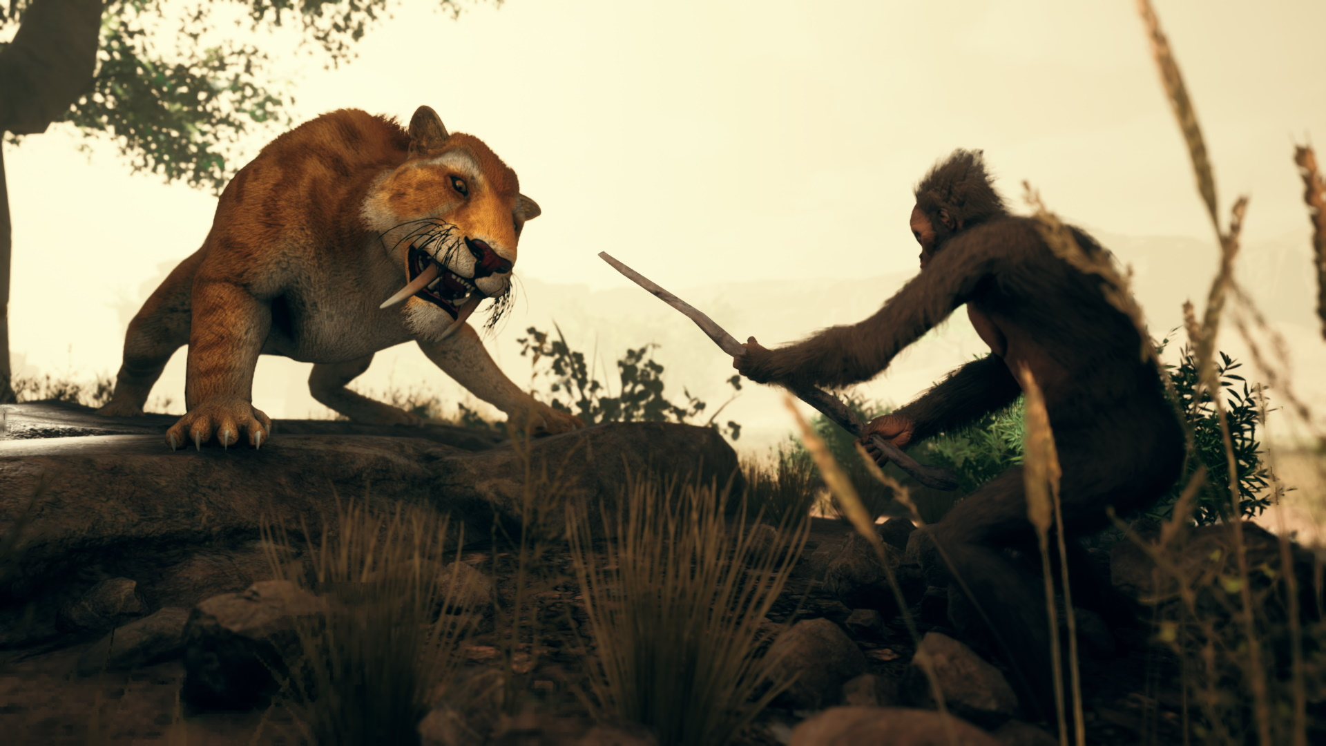 Ancestors: The Humankind Odyssey fighting screennshot