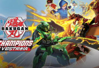 A screenshot of Bakugan: Champions of Vestroia