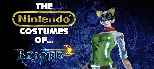 The Nintendo Costumes of Bayonetta 2