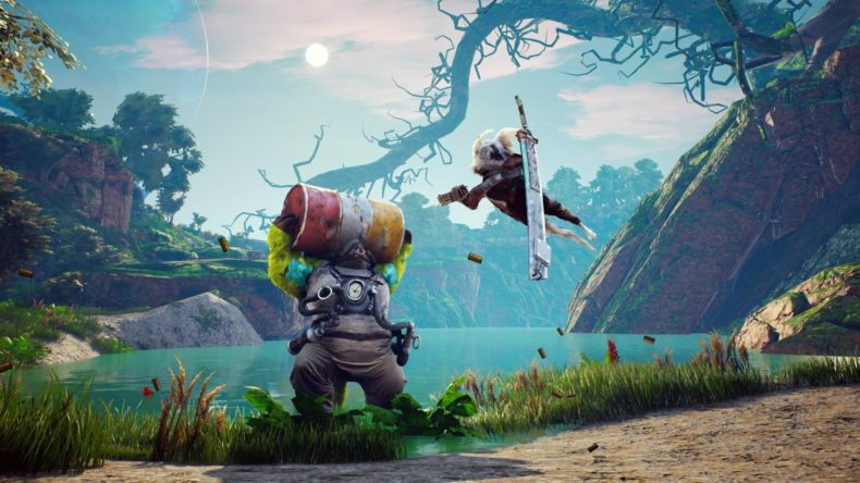 Biomutant is out now, so here's an hour of us showing the gameplay